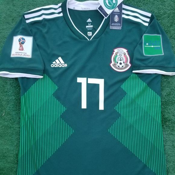 320663152 adidas Shirts | 2018 Mexico Soccer Jersey Corona | Poshmark